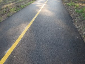 newly paved
