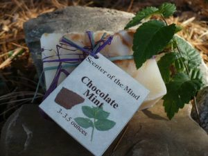 Chocolate Mint All Natural Soap