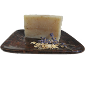 Lavender Oatmeal Natural Handmade Soap