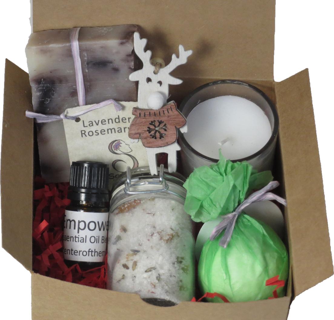 Relaxing Spa Bath Gift Box